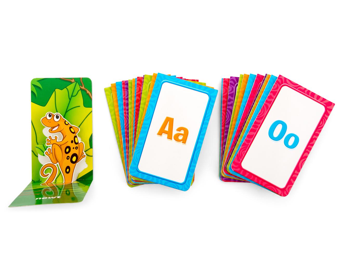 School Zone Animal Alphabet Pop Up Flash Cards Catch Com Au
