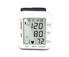 Select Mall Blood Pressure Monitor Automatic Wrist Blood Pressure Monitor Voice Broadcast Clinical High Blood Pressure Monitor 1