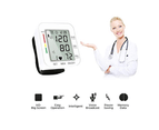 Select Mall Blood Pressure Monitor Automatic Wrist Blood Pressure Monitor Voice Broadcast Clinical High Blood Pressure Monitor 5