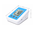 Select Mall Full-Automatic Electronic Sphygmomanometer, English Voice Broadcast Home Medical Upper Arm Blood Pressure Meter 4