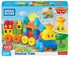 Mega Blocks First Builders ABC Musical Train 50-Piece Building Set 1
