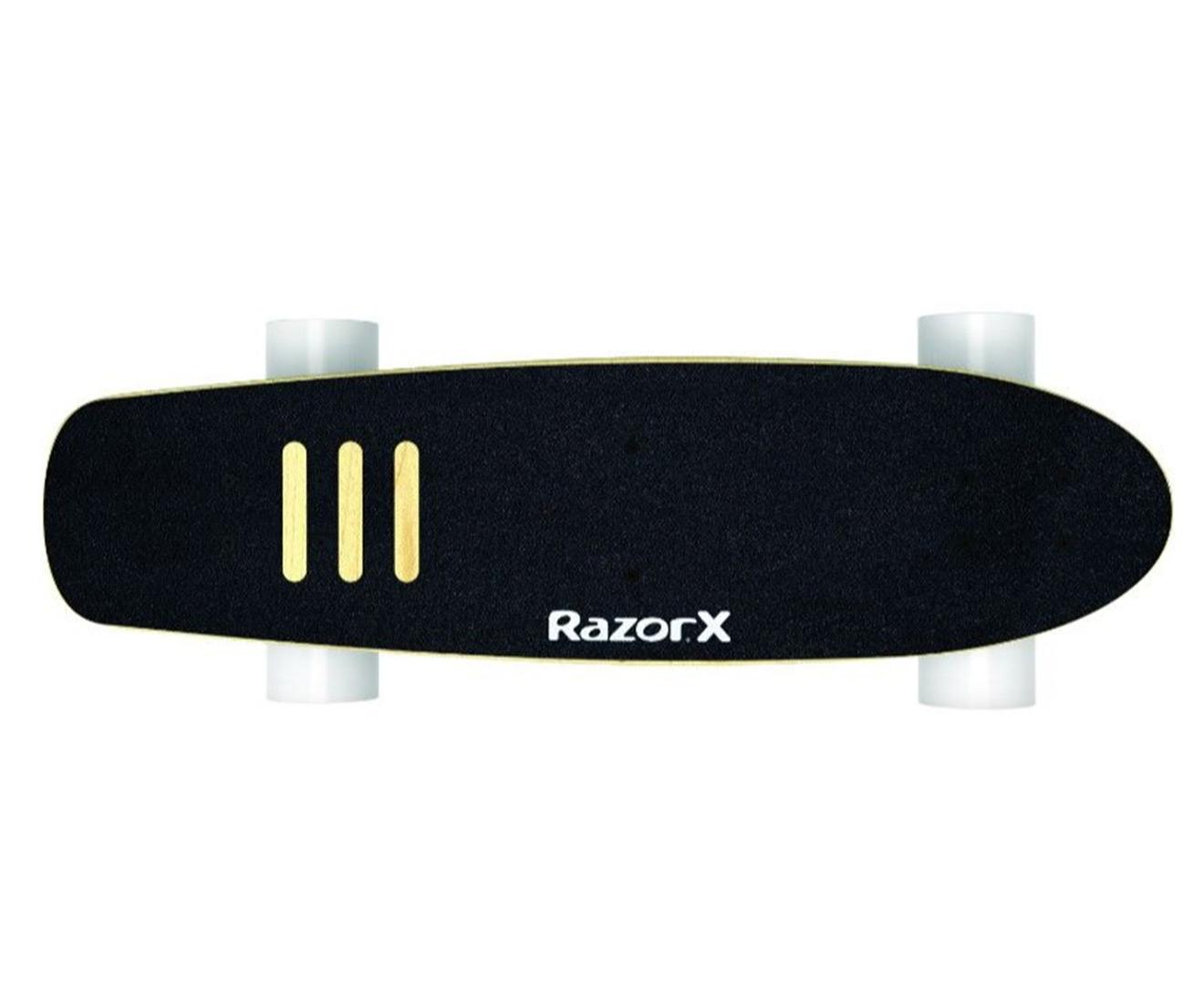 54321ac85b3 Razor X Cruiser Electric Skateboard with Wireless 2.4 GHz Remote - Black 3  3 of 6 ...