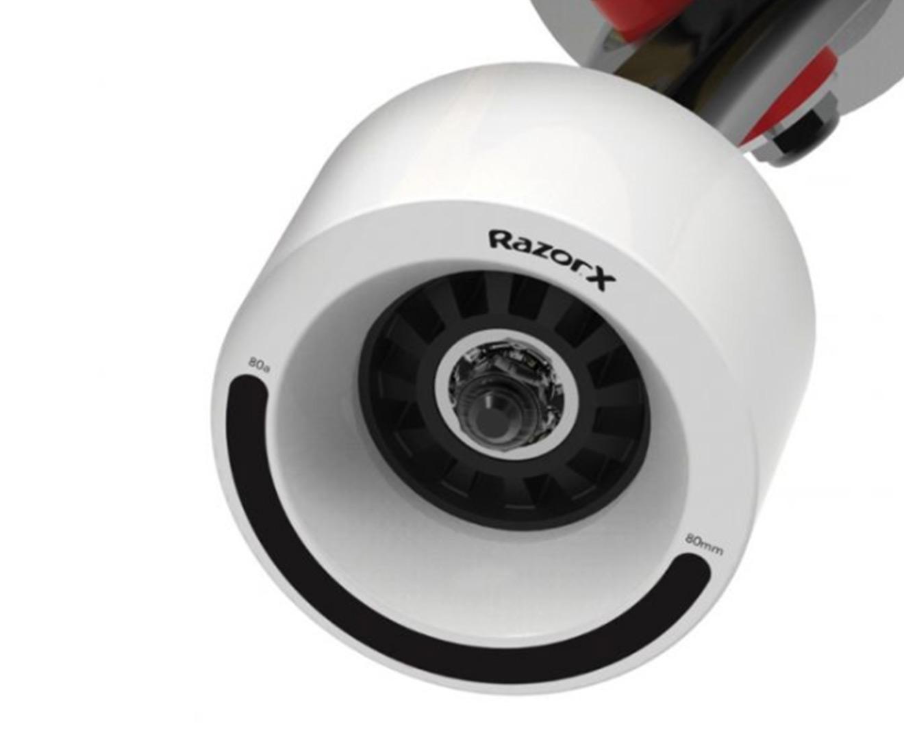 RAZOR X CRUISER Electric Skateboard with Wireless 2 4 GHz Remote - Black