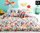 KAS Kids' Kaleidoscope Double Bed Quilt Cover Set - Multi  1