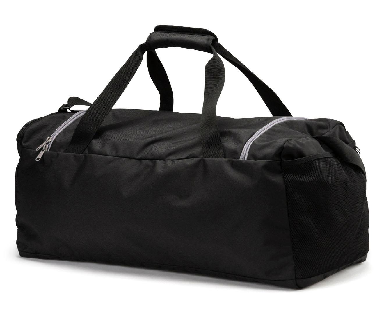 e1913c5b337f Puma Medium Fundamentals Sports Bag - Puma Black 4059506128356