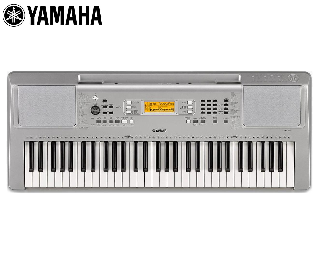 yamaha ypt 360 keyboard ebay. Black Bedroom Furniture Sets. Home Design Ideas