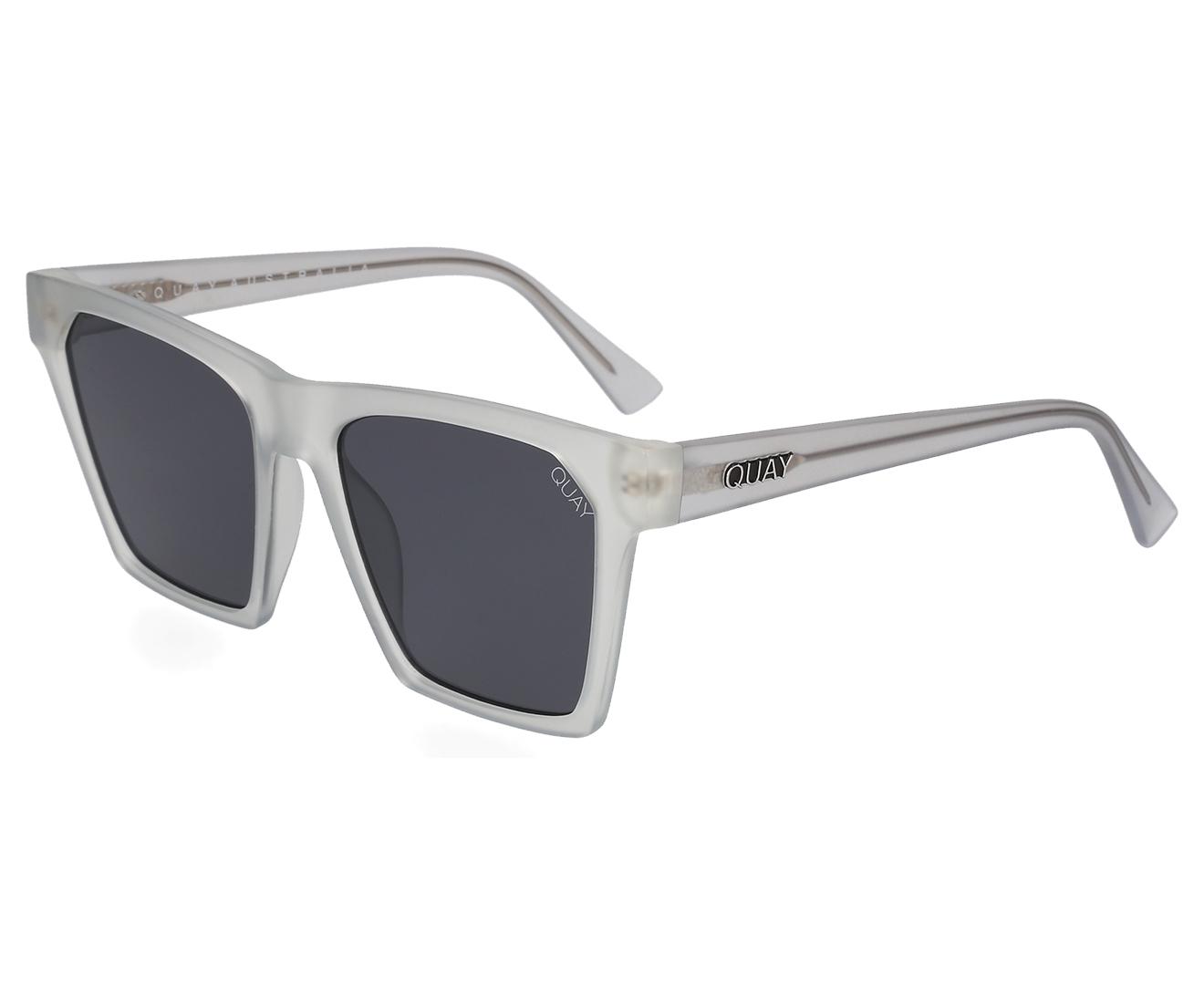 41fab96025 Quay Australia Women s Alright-A Sunglasses - White Smoke
