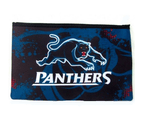 Penrith Panthers NRL Large Neoprene Team Colour and Logo Pencil Case 1