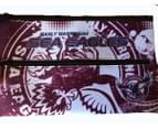 Manly Sea Eagles NRL Large Neoprene Team Colour and Logo Pencil Case 2