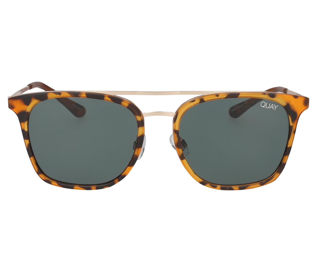 6ad7fbc4faddb5 Quay Australia Men s Byron Sunglasses - Tortoise Green