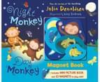 Night Monkey, Day Monkey Magnet Book - Hardback 1