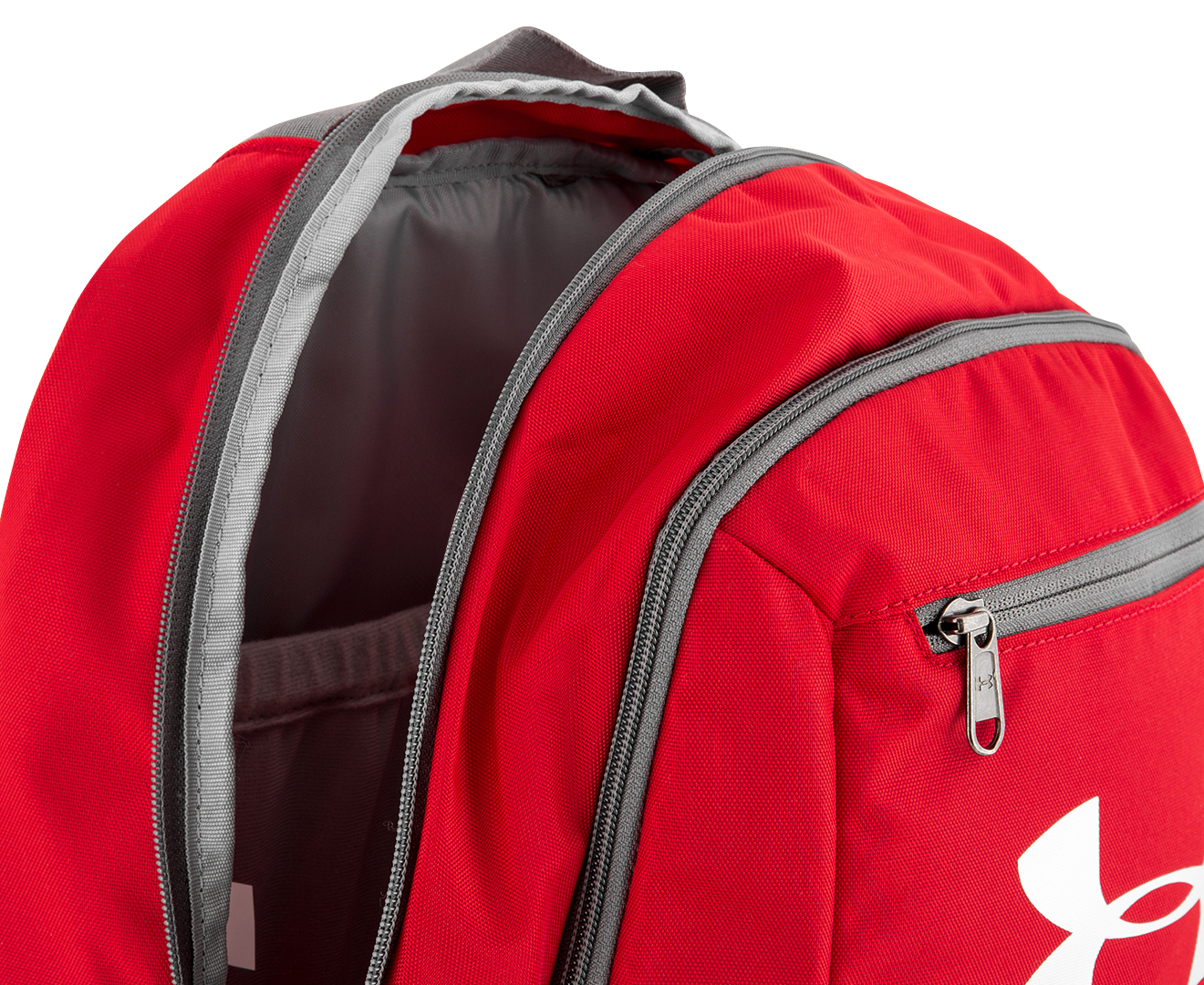 Under Armour 24L Hustle Backpack - Red  fbe4a4fb75661