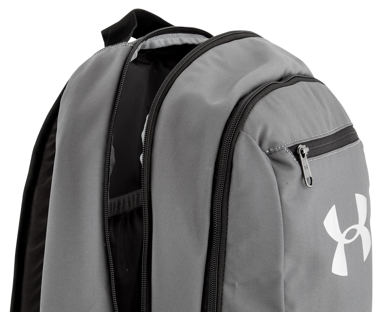 Under Armour 24L Hustle Backpack - Grey  92fa9b6b9d932