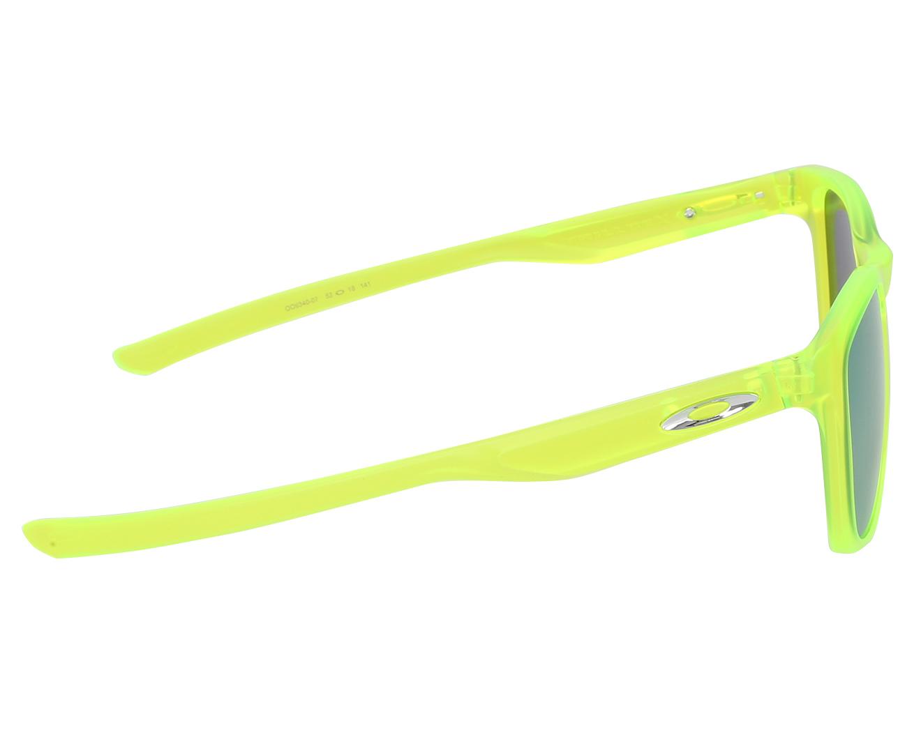 d61bd1817861 Oakley Men s Trillbe X Sunglasses - Matte Uranium Emerald Iridium ...
