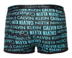 Calvin Klein Men's CK One Cotton Trunk - Logo Blue 2