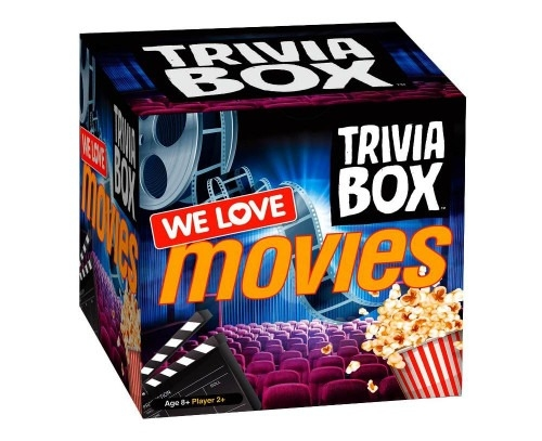 We Love Movies Trivia Box | Gifts for teenage boys | Beanstalk Mums