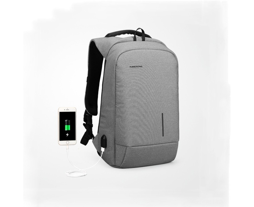b68cc83ec270 OUTNICE Durable Backpack for Men Anti-Theft Travel Daypack Waterproof  Fashion Bags - Light Gray