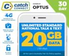 Catch Connect 30 Day Mobile Plan - 20GB 1