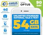 Catch Connect 90 Day Mobile Plan - 54GB 1