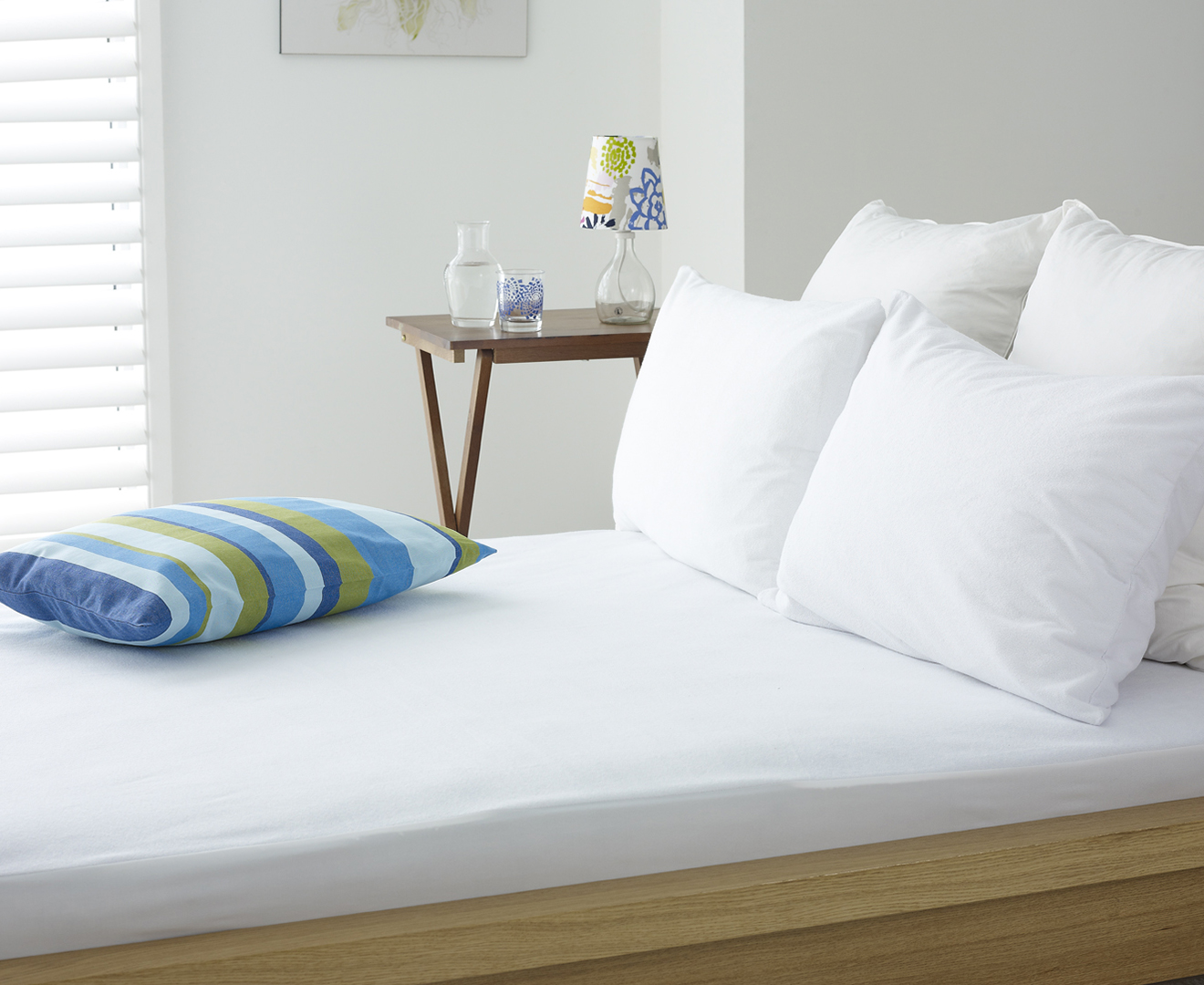 Sleep Comfort Fully Encased Waterproof Queen Bed Mattress