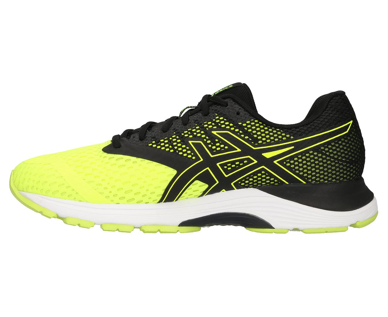 ASICS Men's Gel Pulse 10 Shoe Flash YellowBlack