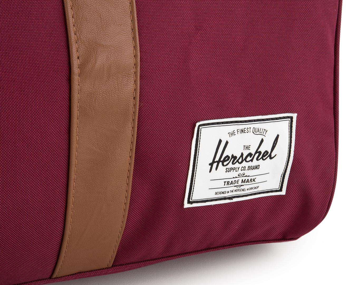 a0077854b74 Herschel Supply Co. 42.5L Novel Duffle - Windsor Wine Tan