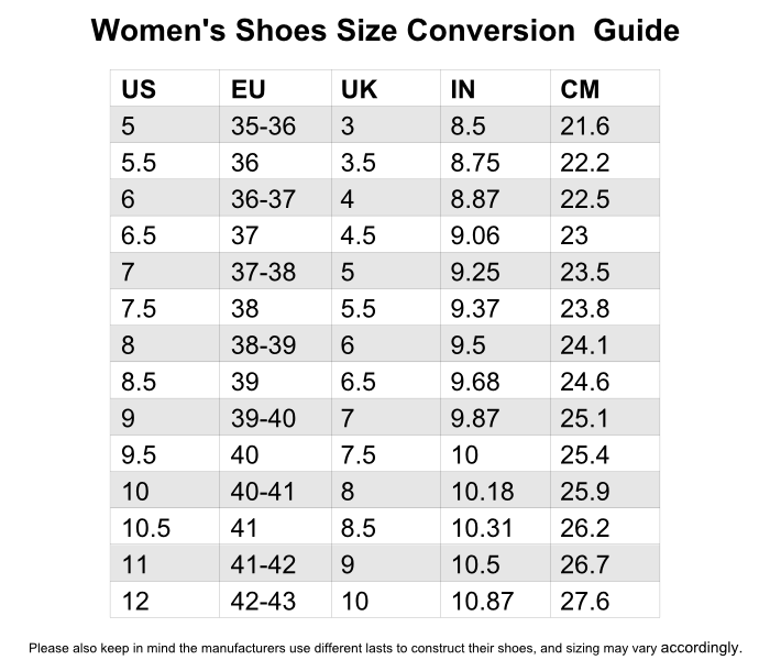 Shoe Size Chart Cm.Michael Kors Size Chart Shoes In Cm George S Blog