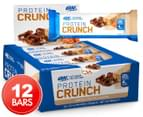 12 x Optimum Nutrition Protein Crunch Toffee & Pretzel Bars 57g 1