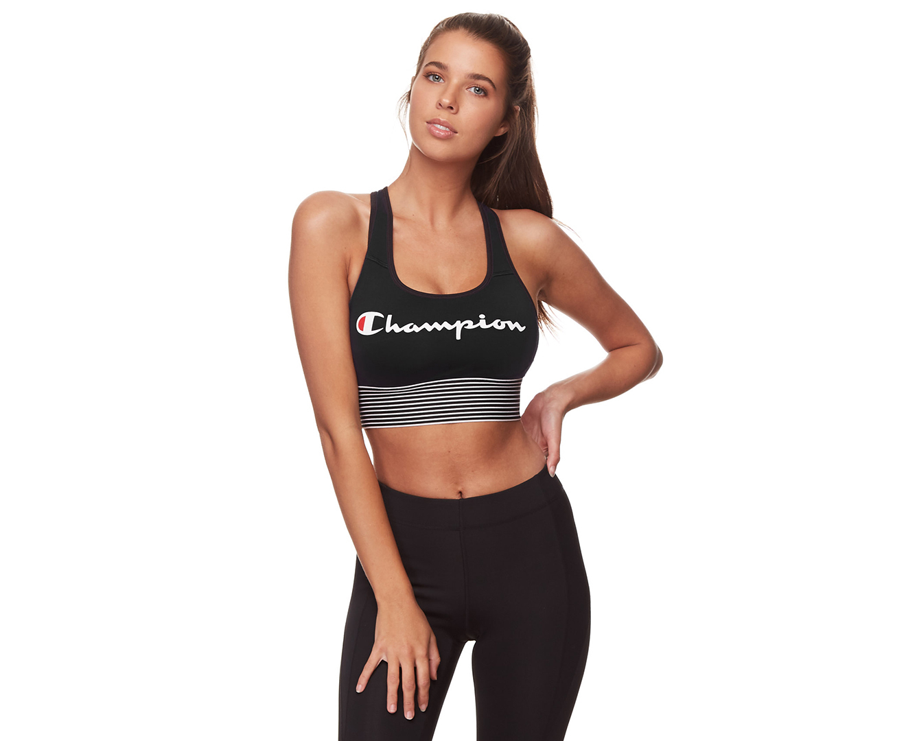 1bd283adb22c6 Champion Women s Absolute Workout Longline Sports Bra - Black
