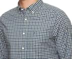 Nautica Men's Stretch Plaid Shirt - Hunter Green 5
