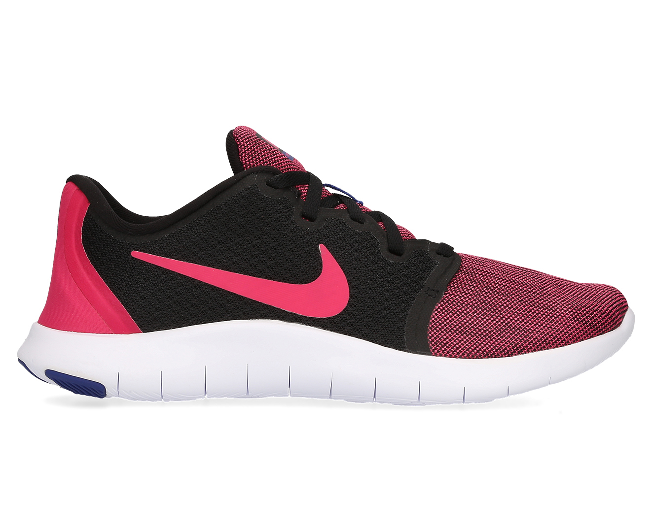 f7f8a78aeb410 Nike Women s Flex Contact 2 Shoe - Black Rush Pink