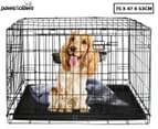 Paws & Claws 2-Door Pet Crate For Large Dogs 1