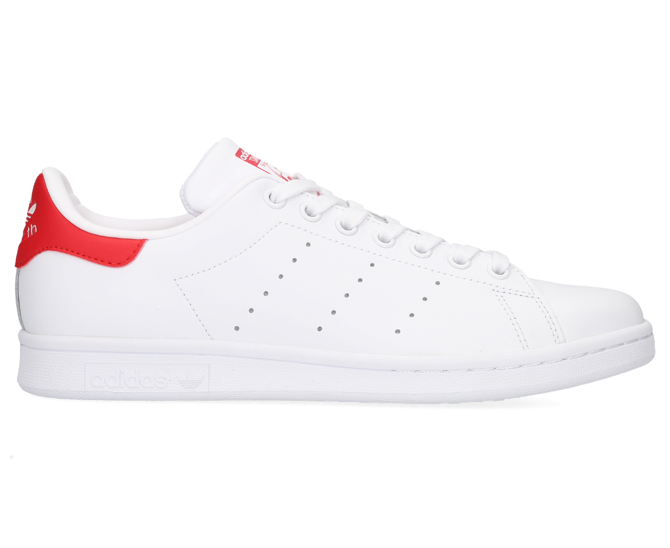 huge selection of a8a4c b5b8b Details about Adidas Men's Original Stan Smith Shoes - Red/White