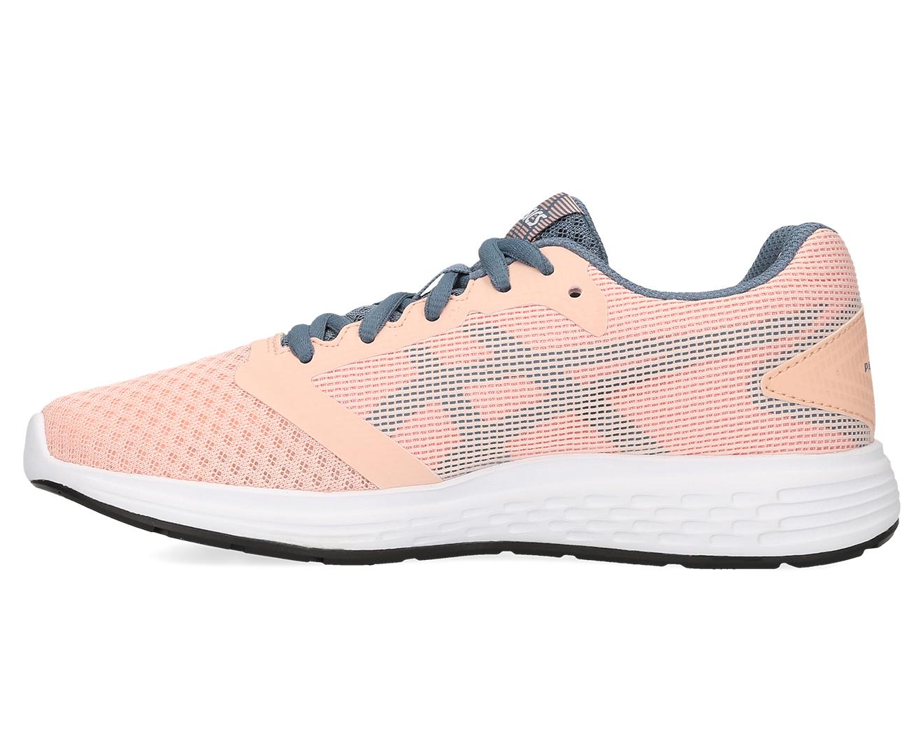 5d143bbeb0 Details about ASICS Grade-School Girls' Patriot 10 Shoe - Baked Pink/Steel  Blue