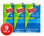 3 x Scotch-Brite Soap-Filled Non-Scratch Scrub Sponges 3pk 1