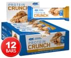 12 x Optimum Nutrition Protein Crunch Bars Peanut Butter 57g 1