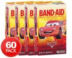 4 x Band-Aid Cars Waterproof Adhesive Bandages 15-Pack 1