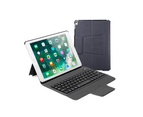 Select Mall Wirelessn Bluetooth Keyboard,Slim Portable Magnetic Cover with Pencil Holder - NAVY BLUE 4