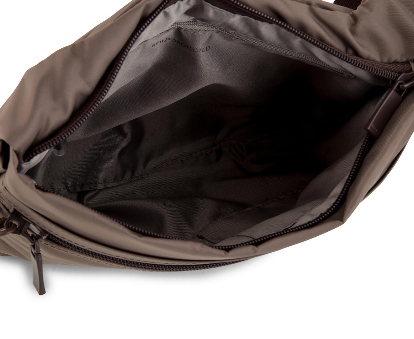 3926cf3e277b Hedgren 3.5L Faith Crossover Bag w  Safty Hook - Sepia Brown