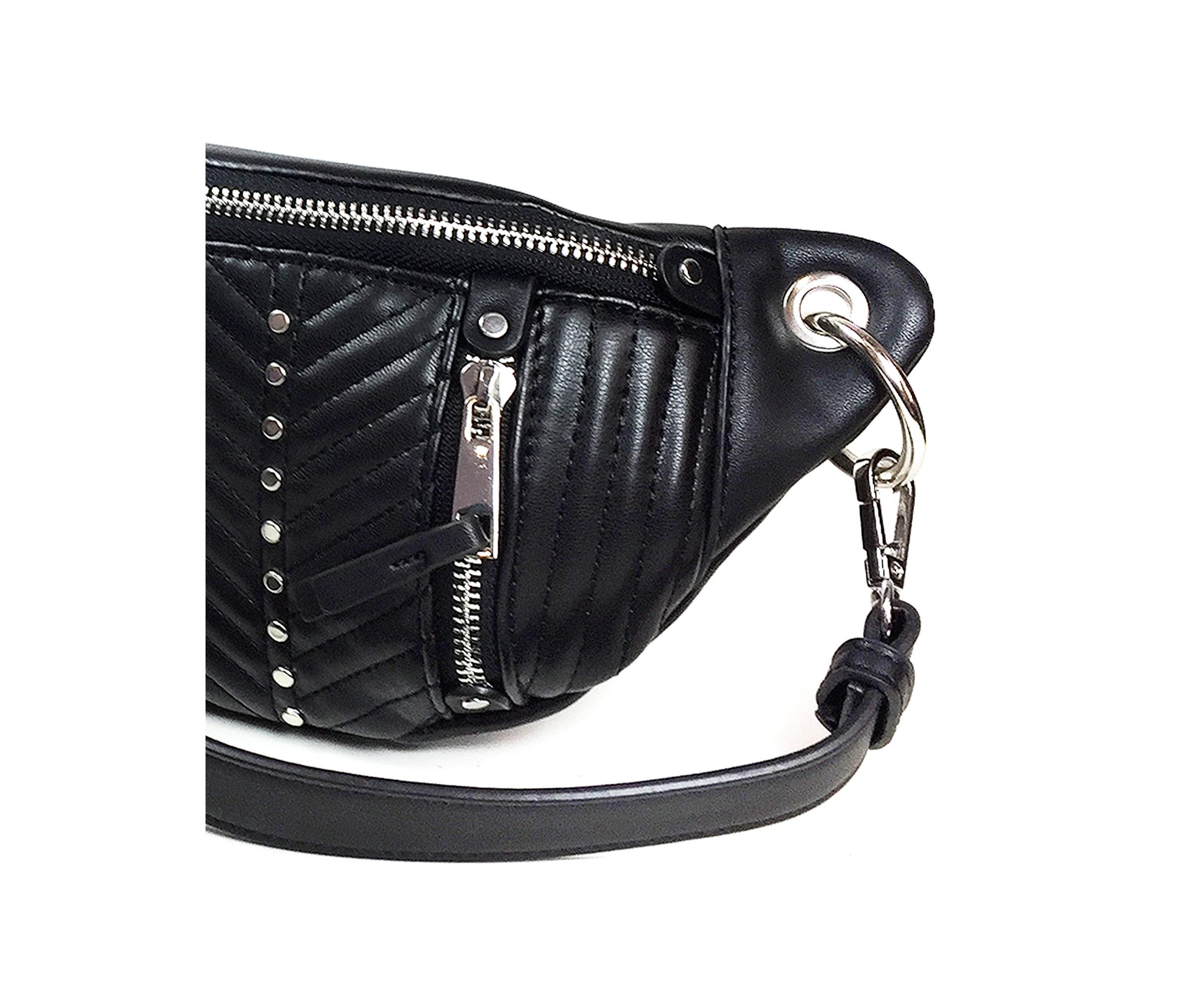 4c2a18f84366 Zara Women Belt bag with zips 6424/304