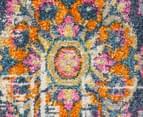 Rug Culture 240x240cm Babylon 205 Blossom Rug - White 4