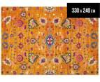 Rug Culture 330x240cm Babylon 210 Floral Rug - Rust 1