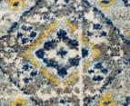 Rug Culture 240x240cm Babylon 203 Diamond Rug - Navy 4