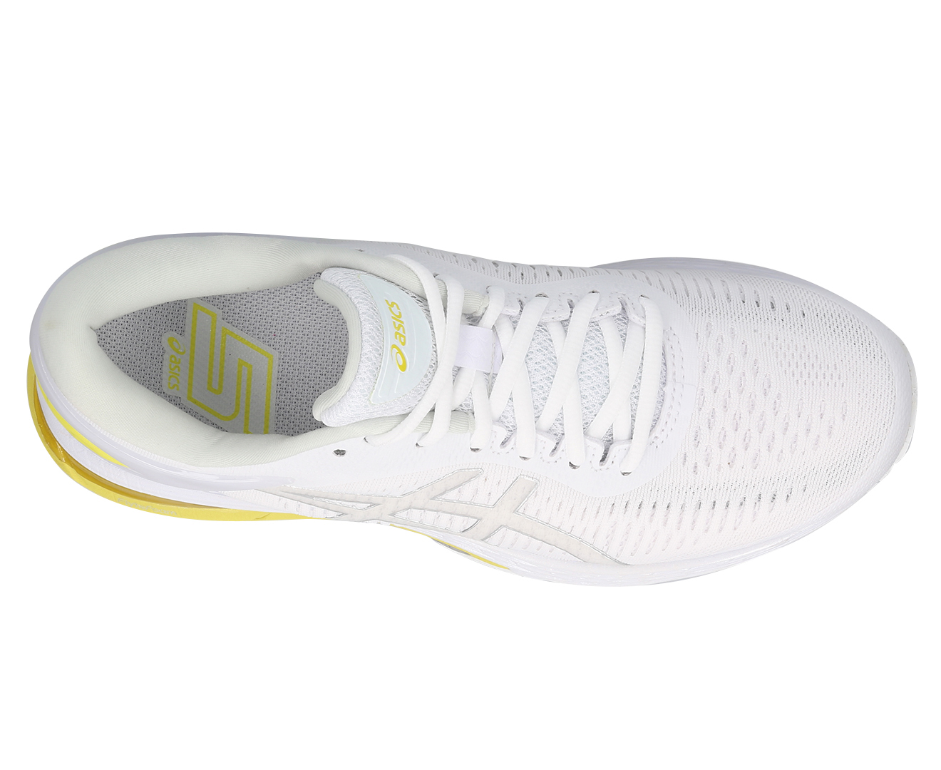 Running Shoes - White/Lemon Spark