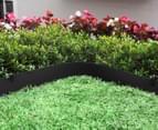 Greenlife 10m x 150mm Plastic Garden Edging - Black 2