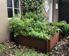 Greenlife Corten 900x600x295mm Steel Garden Bed 3