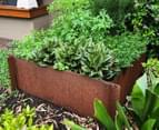 Greenlife Corten 900x600x295mm Steel Garden Bed 4