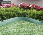 Greenlife 10m x 150mm Plastic Garden Edging - Eucalyptus Green 1