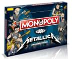 Metallica Collector's Edition Monopoly Board Game 1