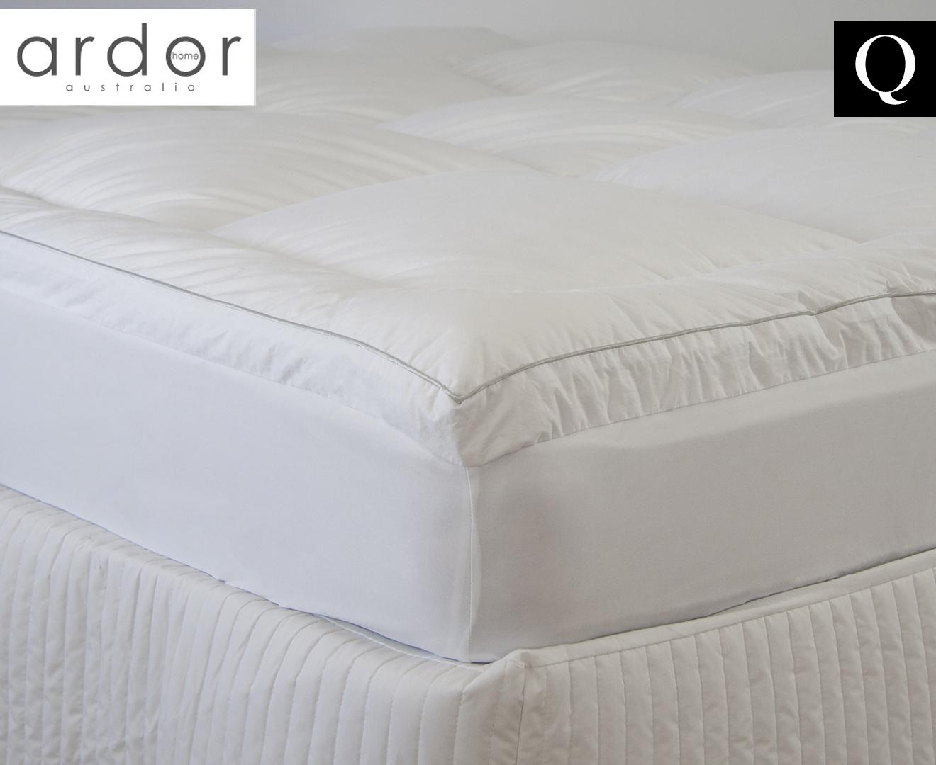 Ardor 2000gsm Microfibre High Loft Mattress Topper SINGLE//DOUBLE//QUEEN//KING NEW